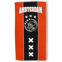 Handdoek ajax rood/zwart: 50x100 cm