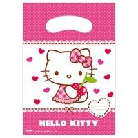 Feestzakjes Hello Kitty: 6 stuks