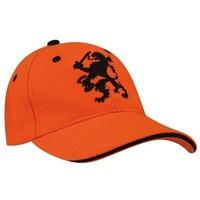 Cap holland junior oranje leeuw