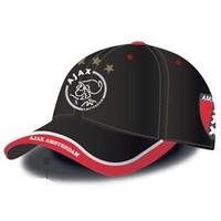 Cap ajax junior zwart logo en wapen
