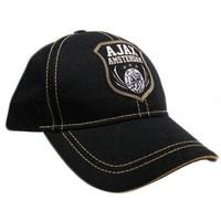 Cap ajax senior zwart oude logo schild