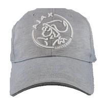Cap ajax senior grijs met wit logo