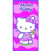 Badlaken Hello Kitty drink: 70x140 cm