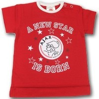Baby t-shirt ajax rood