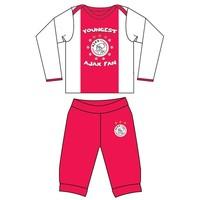 Baby pyjama ajax rood/wit youngest fan