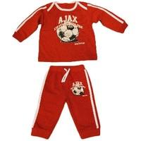 Baby pyjama ajax rood little soccer fan