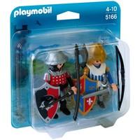 Playmobil 5166 DuoPack Leeuwenridder en Valkenridder
