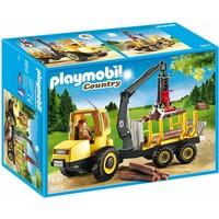 Houttransport met kraan Playmobil