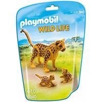 Luipaard met welpen Playmobil