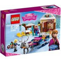 LEGO Princess 41066 Slee-avontuur met Anna en Kristoff
