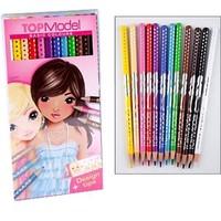 Kleurpotloden 12 stuks Top Model