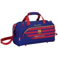 Sporttas barcelona blauw/rood: 50x25x28 cm