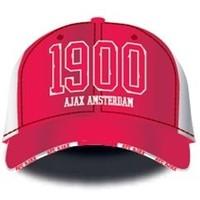 Cap ajax senior wit/rood 1900 Amsterdam