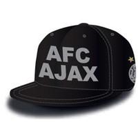 Cap ajax senior zwart oude logo snapback