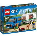 LEGO City 60117 Busje en Caravan