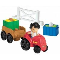 Tractor en Trailer Little People