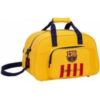 Sporttas barcelona geel: 40x25x23 cm