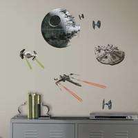 Muursticker Star Wars VII: Classic Ships