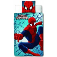 Dekbed Spider-Man flip: 140x200/60x70 cm