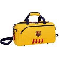 Sporttas barcelona geel: 50x25x28 cm