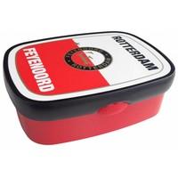 Lunchbox feyenoord rood/wit Mepal