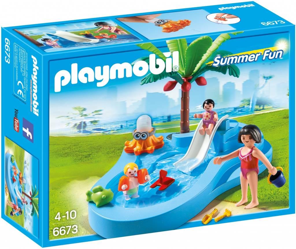 Playmobil 6673 Kinderbad Met Glijbaan