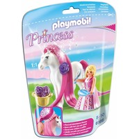 Playmobil 6166 Prinses Rosalie met paard om te verzorgen