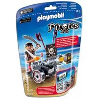 Playmobil 6165 Piraat met zwart kanon