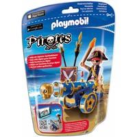 Playmobil 6164 Officier met blauw kanon