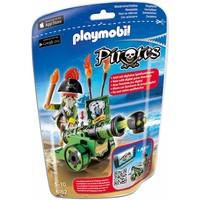 Playmobil 6162 Piratenkapitein met groen kanon