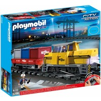 Playmobil 5258 RC goederentrein met containers