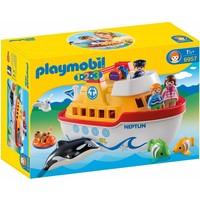 1.2.3 Meeneem schip Playmobil