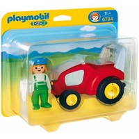 1.2.3 Tractor met boer Playmobil