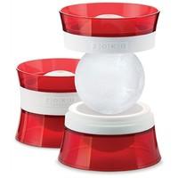 ZOKU Iceball Maker Rood - Set van 2