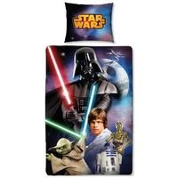 Dekbed Star Wars: scene 140x200/70x80 cm