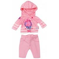 Kledingset casual Baby Born roze