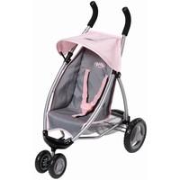 Buggy Baby Born grijs/roze
