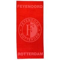 Handdoek feyenoord rood luxe: 50x100 cm