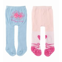 Maillots Baby Annabell 2-pack: blauw/hart