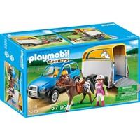 Playmobil 5223 Voertuig met paardentrailer