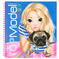 Colouring book doggy Top Model