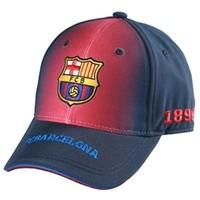 Cap barcelona rood/blauw junior: mixed