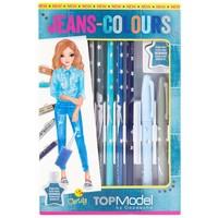 Kleurpotloden Jeans Top Model
