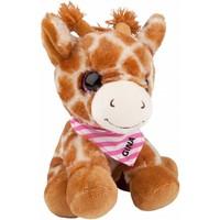 Pluche Snukis 18 cm: Giraffe