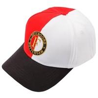 Cap feyenoord junior rood/wit logo