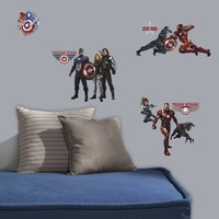 Muursticker Captain America RoomMates