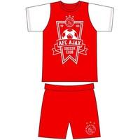 Shortama ajax rood/wit soccer club