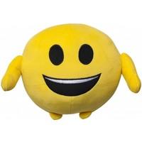 Emoji Kussen pluche lach 18 cm