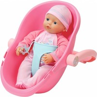 Pop My Little Baby Born supersoft incl. maxi cosi
