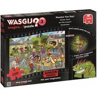 Puzzel Wasgij Junior 03: Monsterfeest 100 stukjes